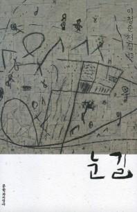 눈길(이청준 전집 13)(반양장)