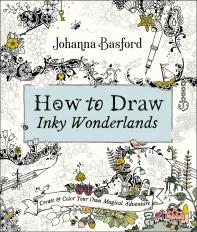 [해외]How to Draw Inky Wonderlands