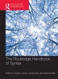 The Routledge Handbook of Syntax 페이퍼백