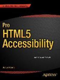 [해외]Pro Html5 Accessibility (Paperback)