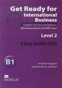 Get Ready For International Business Level. 2(Audio CD)