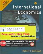 International Economics: With Infotrac College Edition