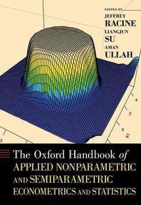 [해외]The Oxford Handbook of Applied Nonparametric and Semiparametric Econometrics and Statistics