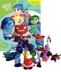 Disney Pixar Inside Out 픽사 인사이드 아웃 피규어 책