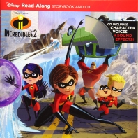 Incredibles 2 Read-Along Storybook and CD