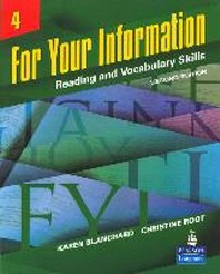 FOR YOUR INFORMATION. 4 (STUDENT BOOK)(SECOND EDITION)