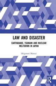 [해외]Law and Disaster (Hardcover)