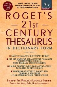 [해외]Roget's 21st Century Thesaurus