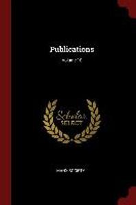 [해외]Publications; Volume 10 (Paperback)