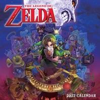 [해외]The Legend of Zelda 2022 Wall Calendar