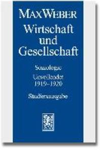 [해외]Max Weber - Studienausgabe (Paperback)