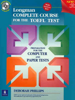 Longman Complete Course for the TOEFL Test with Answer Key / CD-ROM포