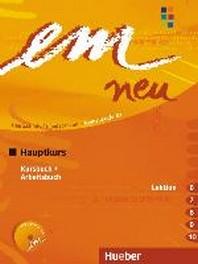 EM NEU 2008 HAUPTKURS KURSBUCH + ARBEITSBUCH, LEKTION 6-10 MIT ARBEITSBUCH-AUDIO-CD