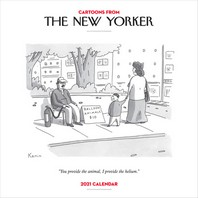 [해외]Cartoons from the New Yorker 2021 Wall Calendar