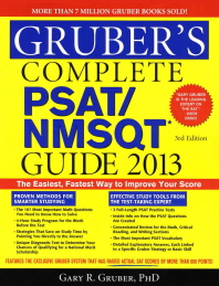 Gruber's Complete PSAT/NMSQT Guide 2013  3/E