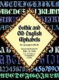 [해외]Gothic and Old English Alphabets