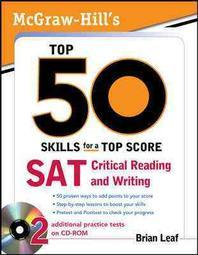 McGraw-Hill's Top 50 Skills for a Top Score, SAT Critical Reading and Writing