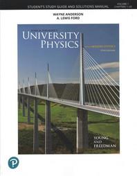 [해외]Student Study Guide and Solutions Manual for University Physics Volume 1 (CHS 1-20)