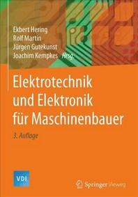 Elektrotechnik Und Elektronik Fr Maschinenbauer