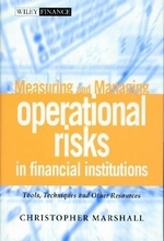 Measuring and Managing Operational Risks in Financial Institutions (Wiley Frontiers in Finance)