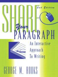 Share Your Paragraph(2/E)