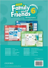 American Family and Friends 2E 6 Writing Posters