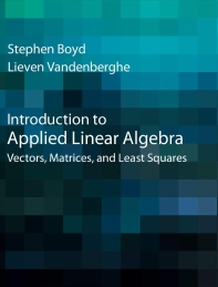 [해외]Introduction to Applied Linear Algebra