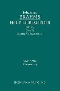 Neue Liebeslieder, Op.65
