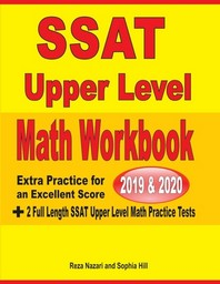 [해외]SSAT Upper Level Math Workbook 2019 & 2020