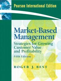Market Based Management 5/E: Strategies for Growing Customer Value and Profitability (Paperback) (당시정가: 35,000원)