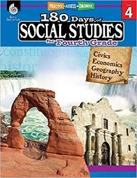 [해외]180 Days of Social Studies for Fourth Grade