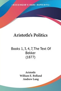 [해외]Aristotle's Politics (Paperback)