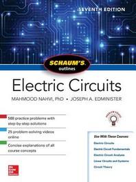 [해외]Schaum's Outline of Electric Circuits, Seventh Edition