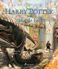 [해외]Harry Potter (Ilustrado 04) Y El Caliz de Fuego = Harry Potter and the Goblet of Fire (Paperback)
