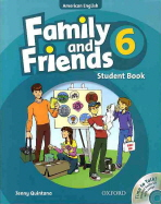 FAMILY AND FRIENDS. 6(STUDENT BOOK)(CD1장포함)
