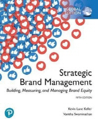 [해외]Strategic Brand Management: Building, Measuring, and Managing Brand Equity, Global Edition