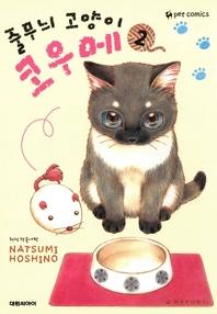 줄무늬 고양이 코우메. 2