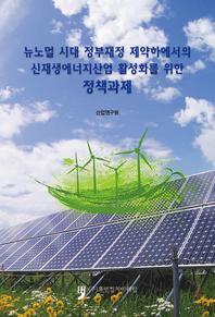 뉴노멀 시대 정부재정 제약하에서의 신재생에너지산업 활성화를 위한 정책과제