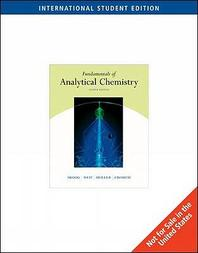 Fundamentals of Analytical Chemistry *8판