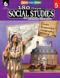 [해외]180 Days of Social Studies for Fifth Grade (Grade 5)