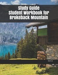 [해외]Study Guide Student Workbook for Brokeback Mountain (Paperback)