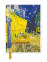 Van Gogh: Cafe Terrace (Foiled Journal) 미사용