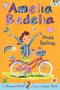 [해외]Amelia Bedelia Means Business (Hardcover)
