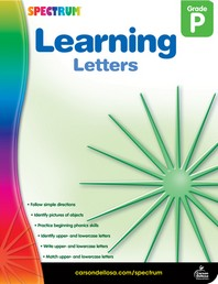 Learning Letters Grade. P
