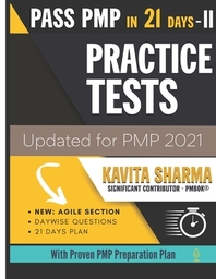 [해외]Pass PMP in 21 Days - Practice Tests