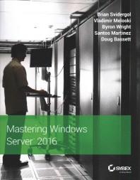 [해외]Mastering Windows Server 2016