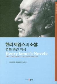 헨리 제임스의 소설: 변화중인 의식(영미문화연구소 3)(양장본 HardCover)
