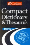 COLLINS COMPACT DICTIONARY & THESAURUS #