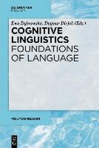 [해외]Cognitive Linguistics - Foundations of Language