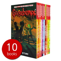 구스범스 Goosebumps Horrorland Series 10 Books Collection